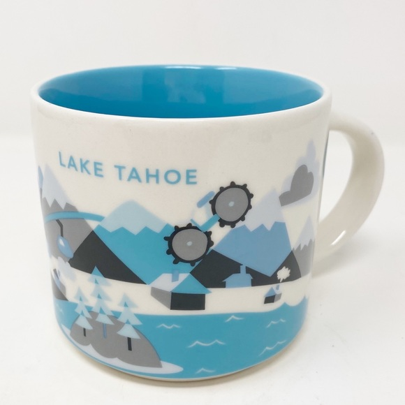 STARBUCKS You Are Here Collection ~ Lake Tahoe